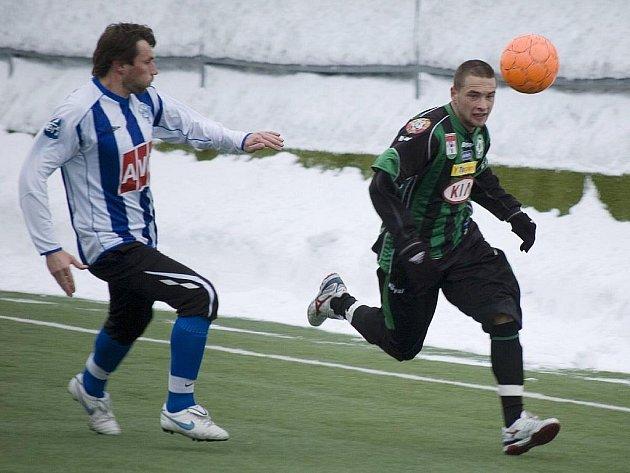 Z utkání FK Příbram - Zenit Čáslav.