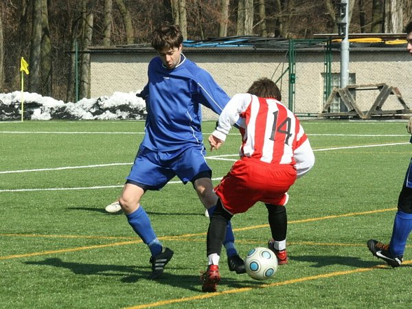 Přátelské utkání: Kutná Hora B - Kaňk 3:2, 23.března 2013.