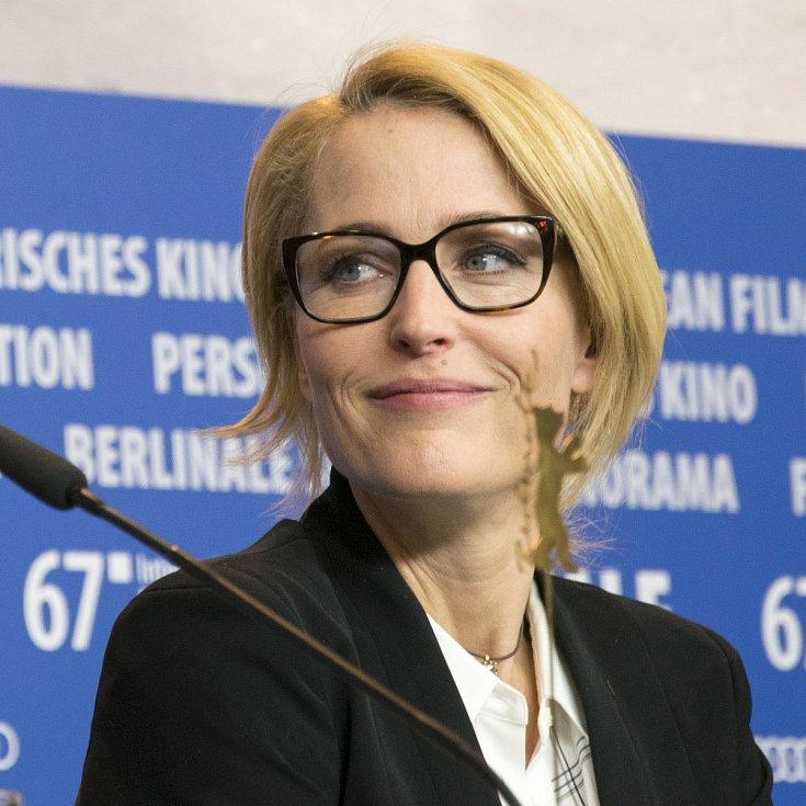 Gillian Andersonová v roce 2017 na festivalu Berlinale.
