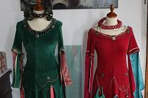 ČMS - Hrádek, workshop na téma tvorba gotického kostýmu
