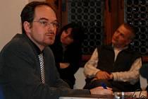 Martin Suchánek ještě jako vedoucí odboru správy majetku Městského úřadu v Kutné Hoře a jednatel Nemocnice Kutná Hora.