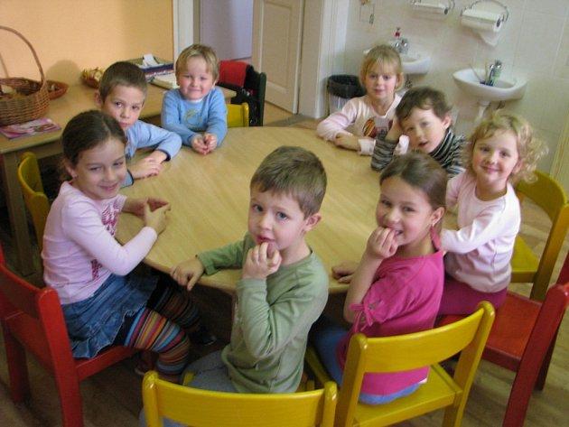Děti v Mateřské škole Sedlec