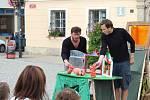 Festival zahájilo divadlo Toy Machine z Peček