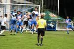 Přípravné utkání mezi fotbalisty Čáslavi a Kolína skončilo v sobotu 27. června 2020 remízou 3:3.