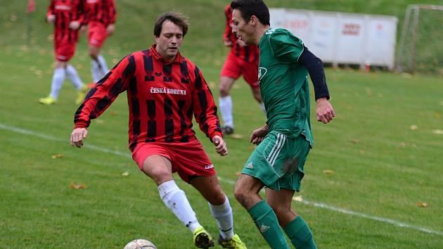 10. kolo okresního fotbalového přeboru. Sedlec doma vyhrál nad Suchdolem 3:2 po penaltách.