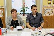 Prezidentské volby 2018 na ZŠ Náměstí v Čáslavi.