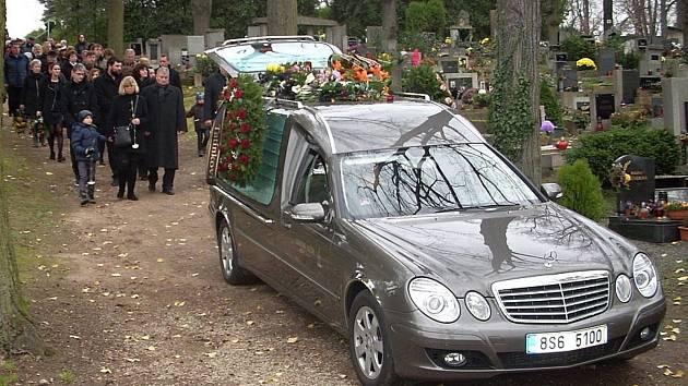 Poslední rozloučení s kutnohorským kapelníkem Miroslavem Jiřištou