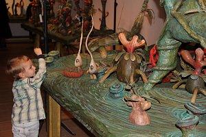 Aurel Klimt zahájil výstavu Lajka