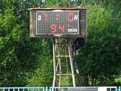 Výsledek mistrovského utkání 22. kola okresního přeboru TJ Sokol Malín - TJ Sokol Červené Janovice.