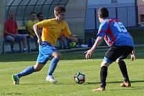Fotbalová I. B třída: Zruč nad Sázavou - Loučeň 2:1 pk.