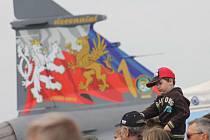 Den otevřených dveří na 21. základně taktického letectva Čáslav 23. května 2015