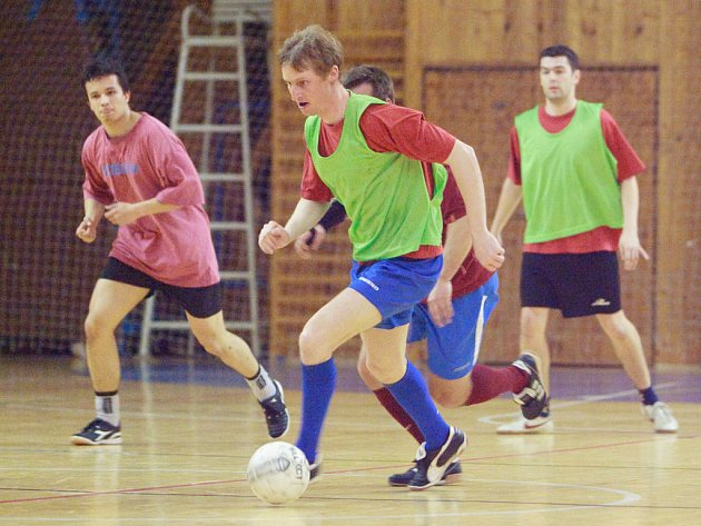 Z 20. hracího dne kutnohorské Futsal ligy Restaurace Na Valech.