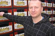 Jan Matějka, obchodní ředitel v kácovském pivovaru.