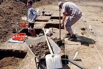 Archeologický výzkum v Čáslavi