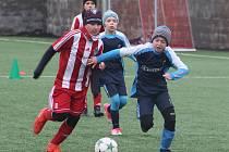 Česká fotbalová liga mladších žáků U12, zimní příprava: FK Čáslav - FK Viktoria Žižkov 10:7.