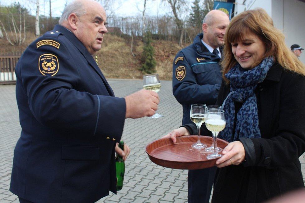 Nová cisterna na HZS Zruč nad Sázavou