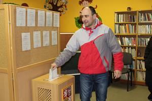 Prezidentské volby 2018 v obci Církvice na Kutnohorsku.