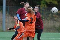 Fotbal ženy: K. Hora - M. Hradiště 0:1, sobota 17. října 2009