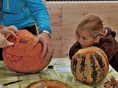 Dlabání dýní na Farmě Bláto v sobotu 27. října