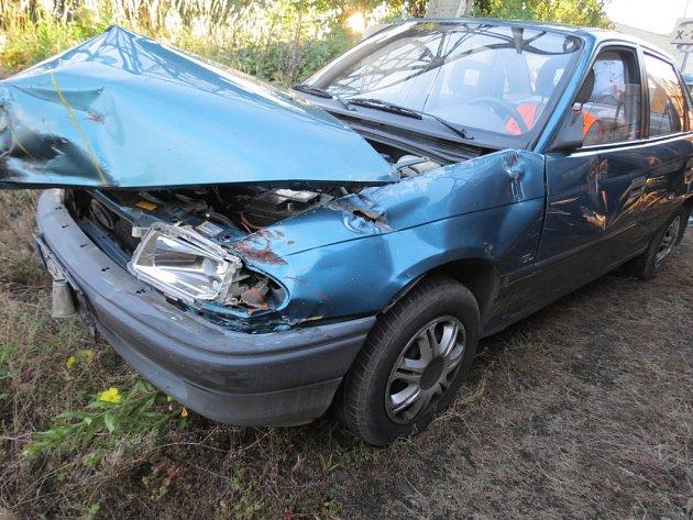 Nehoda automobilu a vlaku u Čáslavi