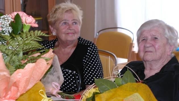 Stoletá Ludmila Demutová.
