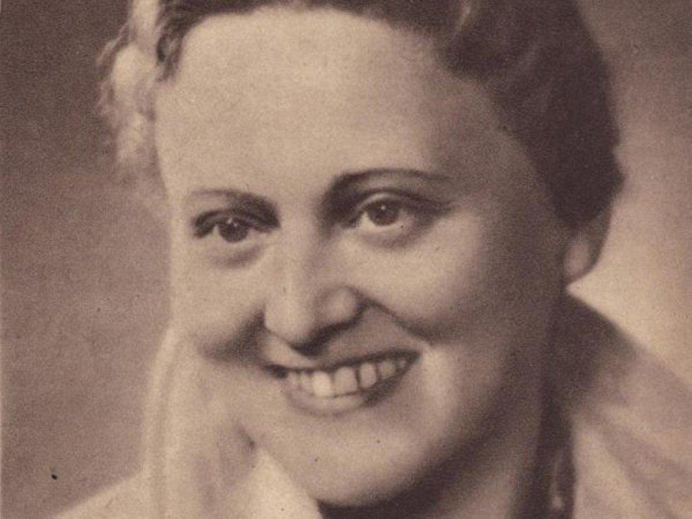 Zdenka Mašínová starší.