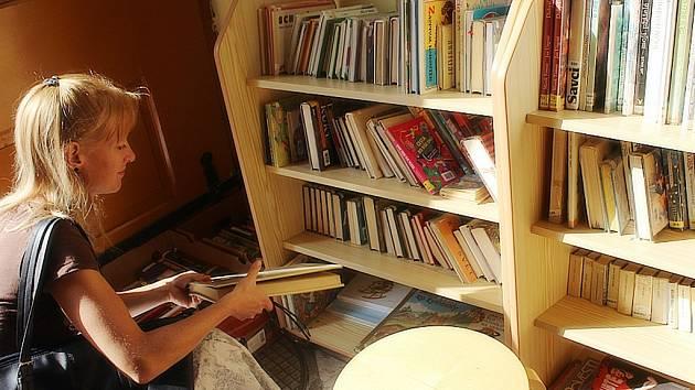 Burza knih v Městské knihovně Kutná Hora