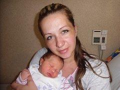 Emma Řeháková se narodila 15. července v Čáslavi. Vážila 3250 gramů a měřila 49 centimetrů. Doma v Přelouči ji přivítali maminka Vladimíra a tatínek Lukáš.