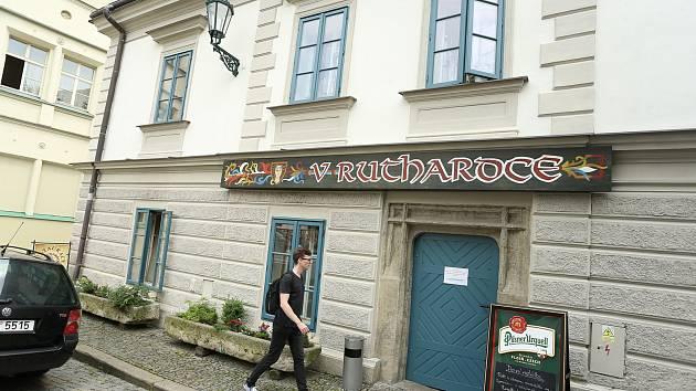 Restaurace V Ruthardce v Kutné Hoře.