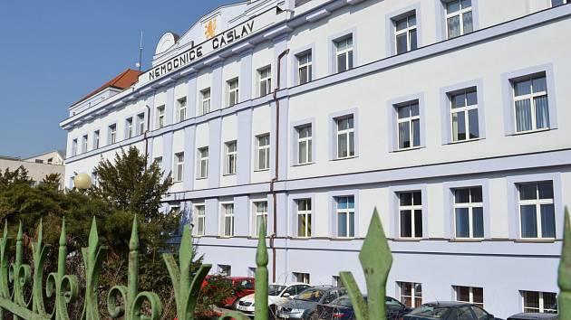 Čáslavská nemocnice.