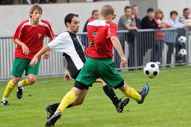 Fotbal I. A třída: U. Janovice - Rejšice 3:1, sobota 22. srpna 2009