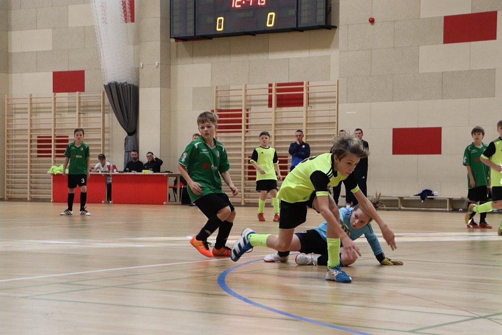 Na futsalovém turnaji na Klimešce zvítězili domácí hráči