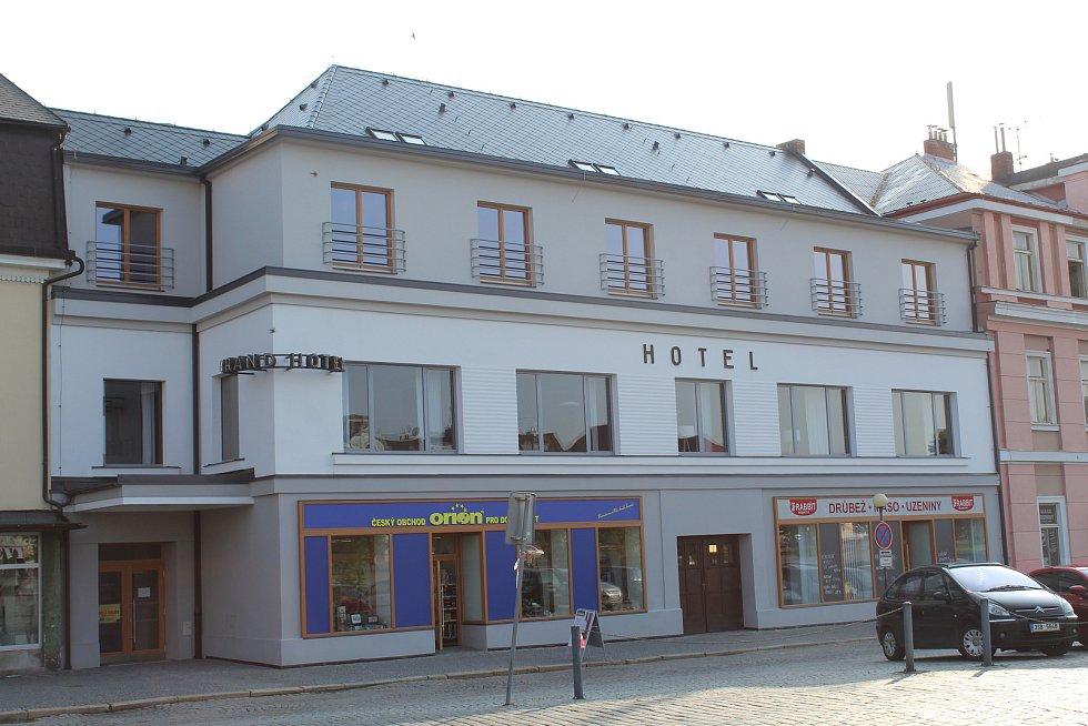 Hotel Grand v Čáslavi.