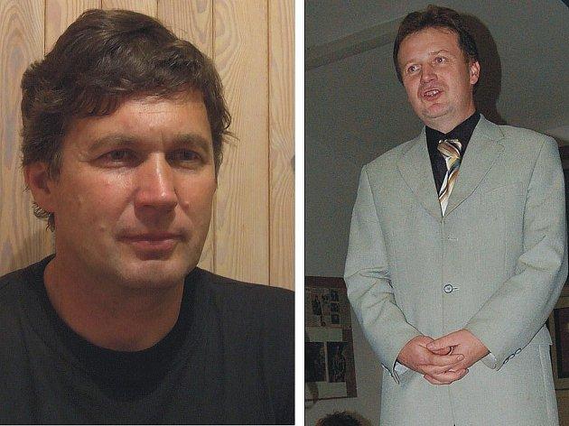 Vladimír Císař (vlevo), Vladislav Slavíček (vpravo).