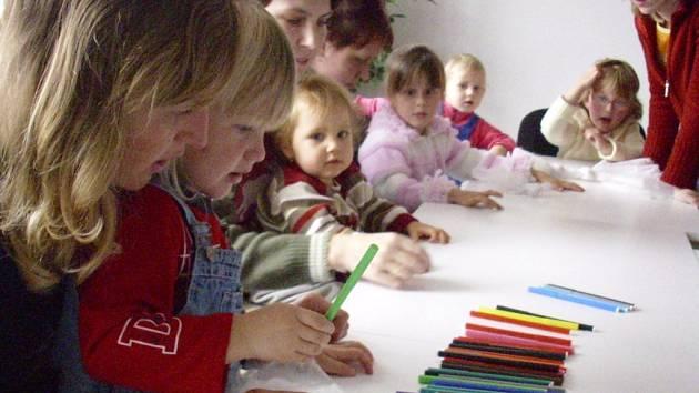 Mateřské centrum Kopertina na výletě v Chrudimi.