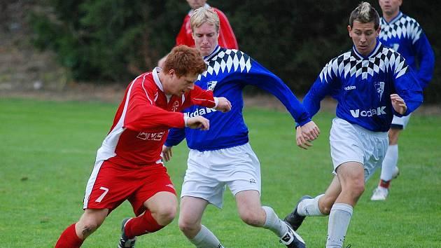 Fotbal I. B třída: Tupadly - Chocerady 0:1, neděle 25. října 2009