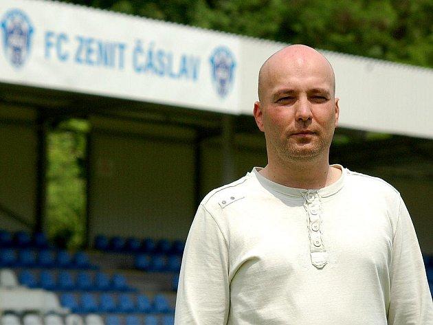Trenér FC Zenit Čáslav - Pavel Malura.