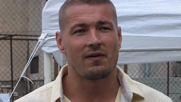 Producent, herec a kaskadér Petr Jákl.
