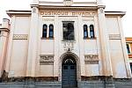 Dusíkovo divadlo v Čáslavi.