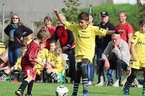 Z mistrovského turnaje fotbalových mladších přípravek v Čáslavi.