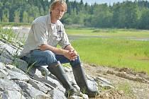 Části chatařů se nelíbí Vágnerovy úpravy rybníku Katlov