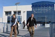 Vstupní brána do kutnohorského podniku společnosti Foxconn.