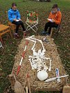 Lidé si v Čáslavi užili Archeologické hrátky na Hrádku.