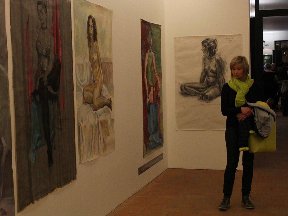 Zahájení výstav Július Koller pohledem Zuzany Bartošové, Z rodinného alba a Figurama 1. března 2014