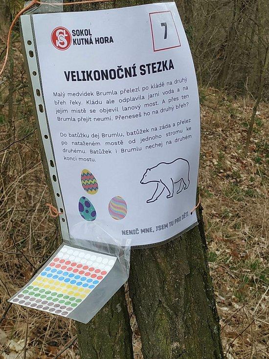 Z Velikonoční stezky připravené vedením TJ Sokol Kutná Hora.