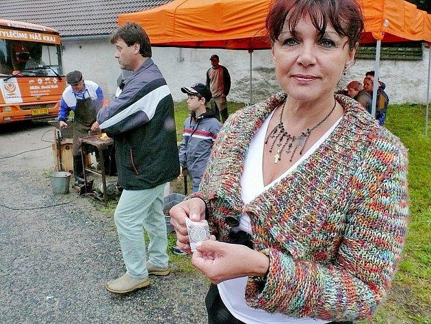 Jedním z nominovaných zástupců Kutnohorska v soutěži o starostu roku je starostka Nepoměřic Eva Strnadová (na snímku).