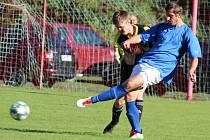 Fotbalová IV. třída, skupina B: SK Malešov B - TJ Sokol Červené Janovice B 10:1 (4:0).