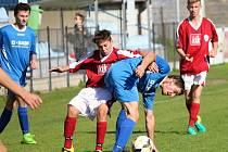 I.A třída dorostu: FK Čáslav B - TJ Sokol Družba Suchdol 0:7 (0:3).