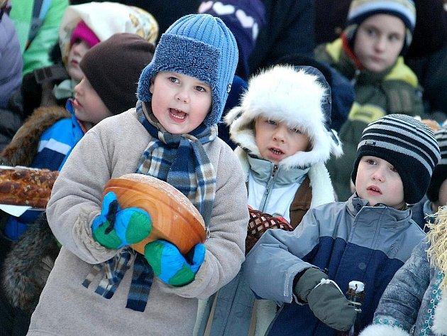 Vánoční jarmark v kutnohorské mateřské škole Pohádka. 16. 12. 2010