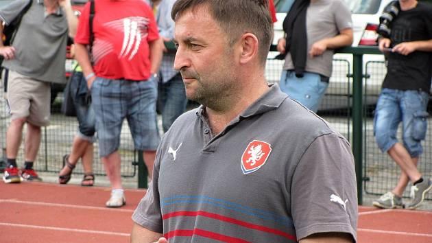 Šéftrenér mládeže Středočeského krajského fotbalového svazu Milan Kormaník.